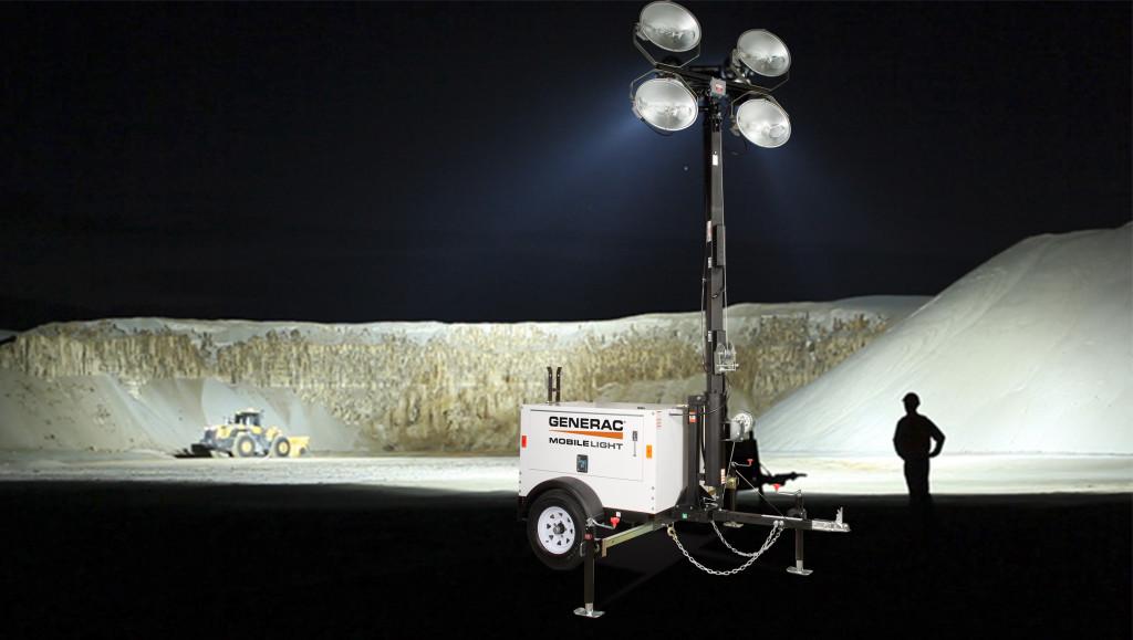 aplicación torre de iluminación